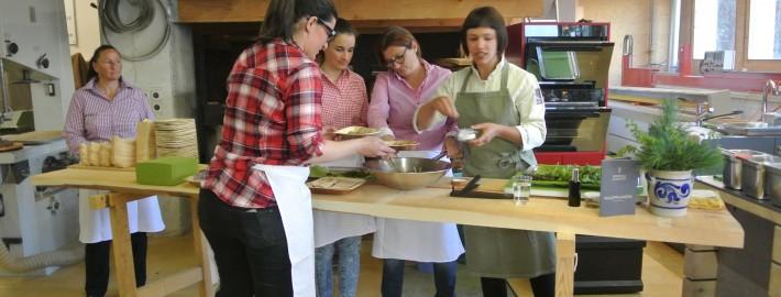 Kochevent mit Rebecca Clopath in unserer Werkstatt